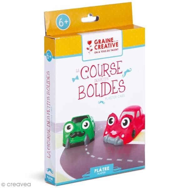 Kit Moulage plâtre - 2 Petits bolides - Photo n°1
