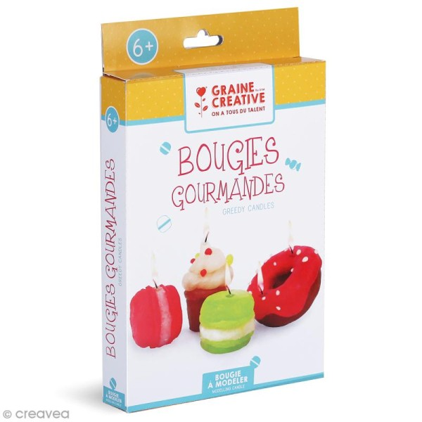 Kit Bougies - Gâteaux gourmands - Photo n°1