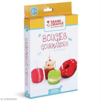 Kit Bougies - Gâteaux gourmands