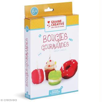 Kit Bougies - Gâteaux gourmands