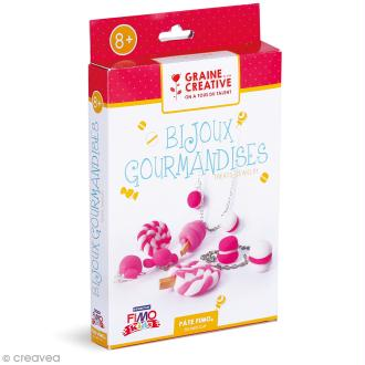 Kit Fimo - Bijoux gourmands