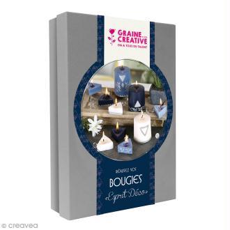 kit bougies acheter coffret bougies au meilleur prix creavea. Black Bedroom Furniture Sets. Home Design Ideas