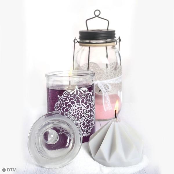 Bonbonnière en verre - 10 x 18  cm - Photo n°2