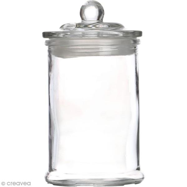 Bonbonnière en verre - 10 x 18  cm - Photo n°1