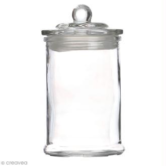 Bonbonnière en verre - 14,5 x 8 cm