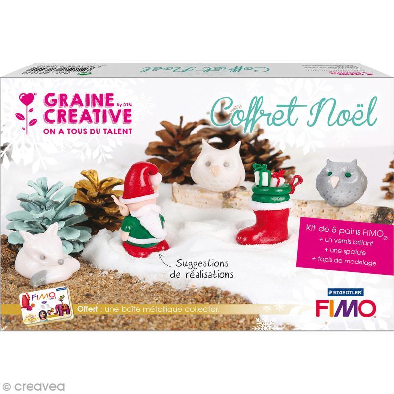 Coffret Collector modelage Fimo - Noël - Photo n°1