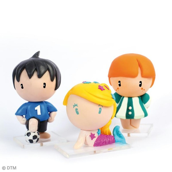 Kit figurine Fimo - Ginger la chipie - Photo n°2