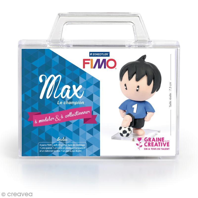 kit figurine fimo max le champion coffret p te. Black Bedroom Furniture Sets. Home Design Ideas
