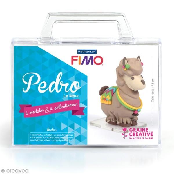 Kit figurine Fimo - Pedro le lama - Photo n°1