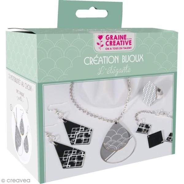 Kit Création Bijoux - L'élégante - Photo n°1