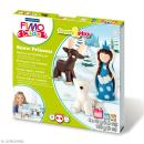 Kit pâte Fimo Kids - Pincesse des neiges - niveau Difficile - Photo n°1