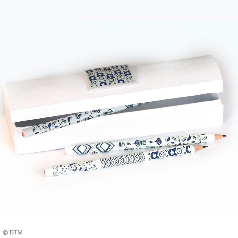 Pochoir pour impression de motifs sur pâte polymère - Russie - 11,4 x 15,3 cm - Photo n°2