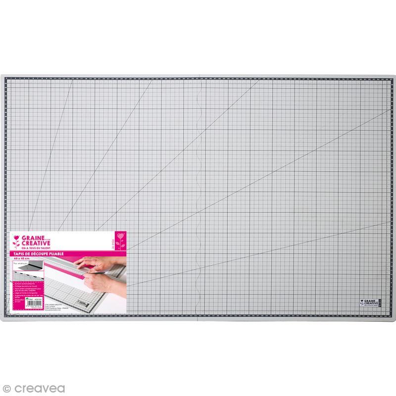 Tapis de découpe Pliable - 60 x 90 cm - Photo n°1