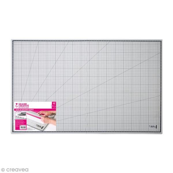 Tapis de découpe Pliable - 45 x 60 cm - Photo n°1