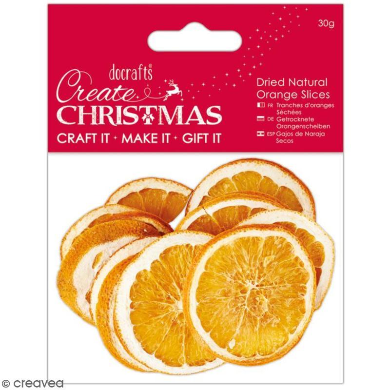 Tranches d'oranges séchées - 30 g - Photo n°1