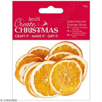 Tranches d'oranges séchées - 30 g