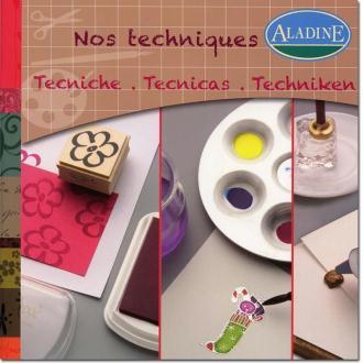 Livre Techniques pour carterie Aladine