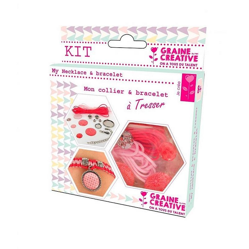 Kit bijoux amour pour collier et bracelet tresser for Amour de cuisine de soulef
