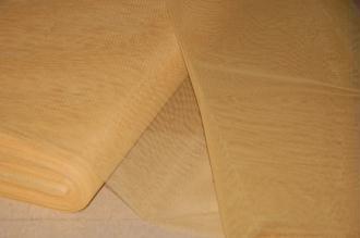 Tissu Tulle Raide Moutarde Largeur 150cms – Coupe au mètre