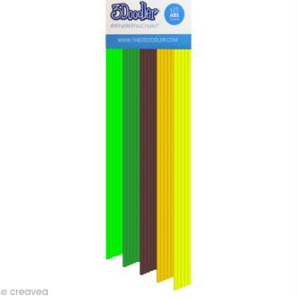 Recharge bâton plastique ABS Stylo 3D - Welcome to the Jungle - 25 pcs