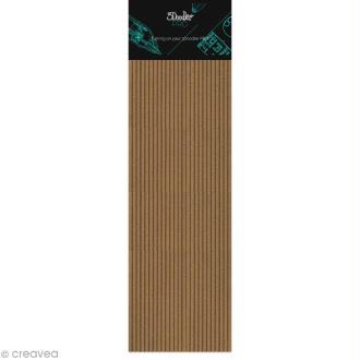 Recharge bâton Stylo 3Doodler Pro - Bois - 25 pcs