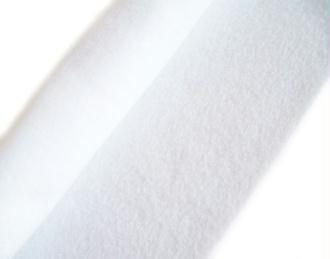 Feutrine blanc neige 30 x 22 cm écologique polaire, souple