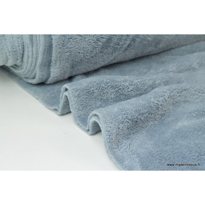tissu doudou double face gris x1m tissu au m tre creavea. Black Bedroom Furniture Sets. Home Design Ideas
