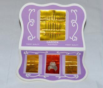 Carnet de 15 Aiguilles à Coudre + Enfileur - Haute Qualité.