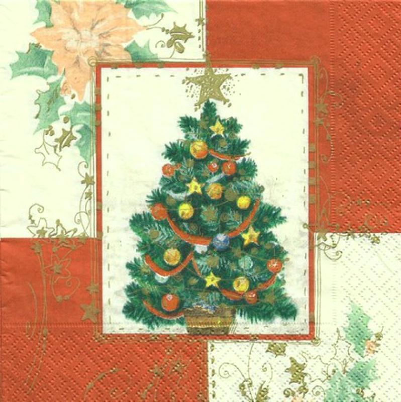 4 serviettes en papier d coupage collage 33 cm sapin noel fleur 66 serviette en papier no l - Decoupage papier deco noel ...
