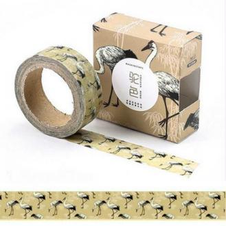 Washi Tape Masking Tape ruban adhésif scrapbooking OISEAU AUTRUCHE