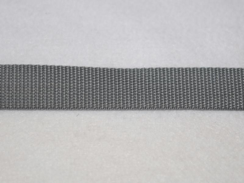 40 mm Qualité extra Gris Sangle Polypropylene au mètre