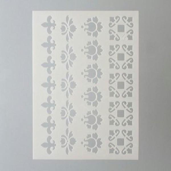 Pochoir Frises  A5 - Stencil Frises - P9320720 - Photo n°1