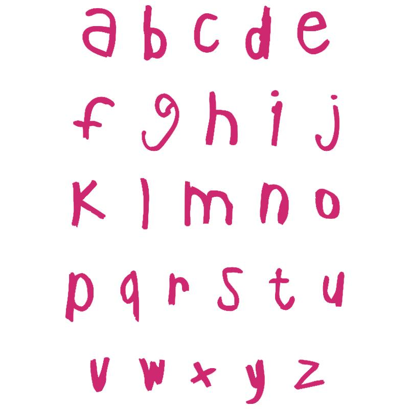 Häufig Pochoir alphabet - Acheter Pochoir lettre au meilleur prix - Creavea ZN15
