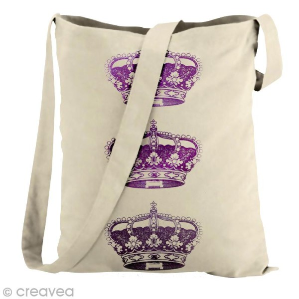 Pochoir textile adhésif My Style Couronne 21 x 14,8 cm - Photo n°4