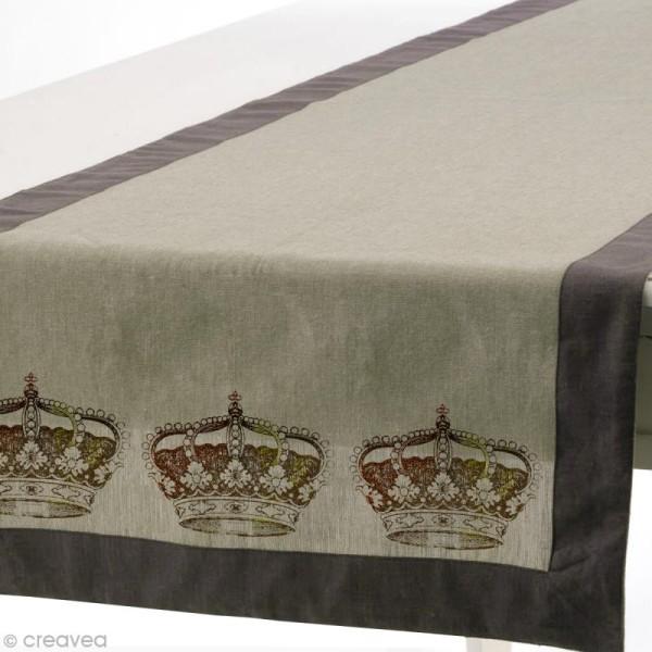 Pochoir textile adhésif My Style Couronne 21 x 14,8 cm - Photo n°6