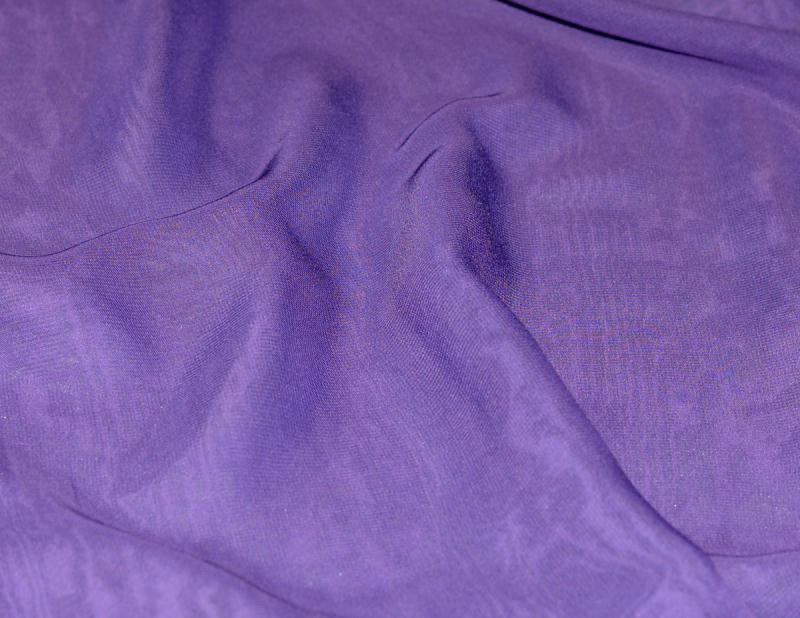 Tissu mousseline polyester fluide violet coupe par for Art et cuisine chaudron line