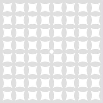 Pochoir Courbes  32 x 32 cm - Pochoir Artemio - Stencil Courbes - 15092005