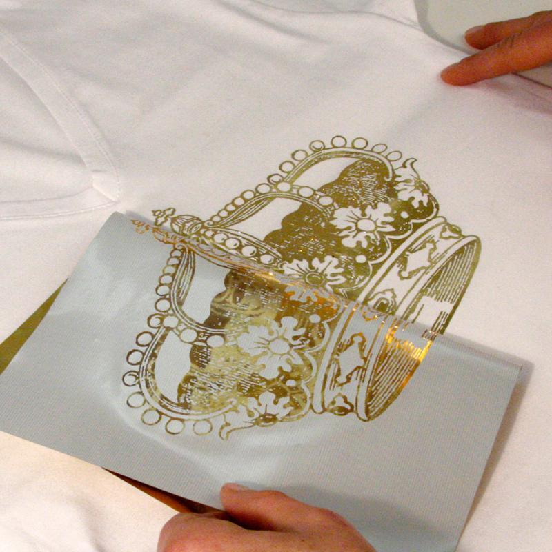 Papier transfert textile m tallis my style or 21 x 29 7 - Papel de transferencia textil ...
