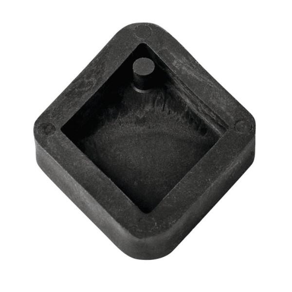 Moule à bijoux losange pour béton, Pendentif en caoutchouc flexible, 3,9 cm, remplissage 7 mm - Photo n°1