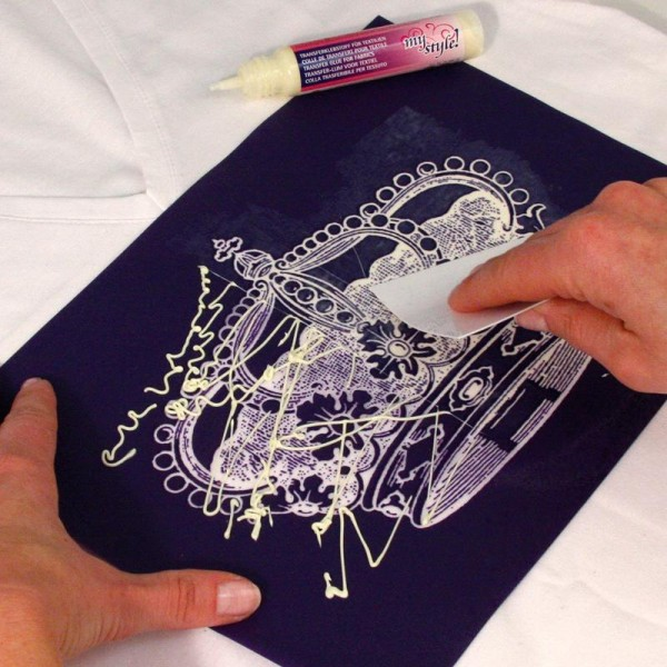 Colle pour papier transfert textile My Style 25 ml - Photo n°2