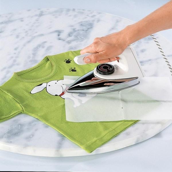 Papier à repasser blanc My Style 21 x 29,7 cm -5 feuilles - Photo n°2