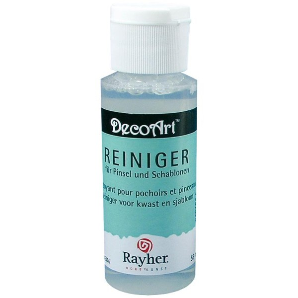 Nettoyant pour pinceaux et pochoirs Rayher 59 ml - Photo n°1