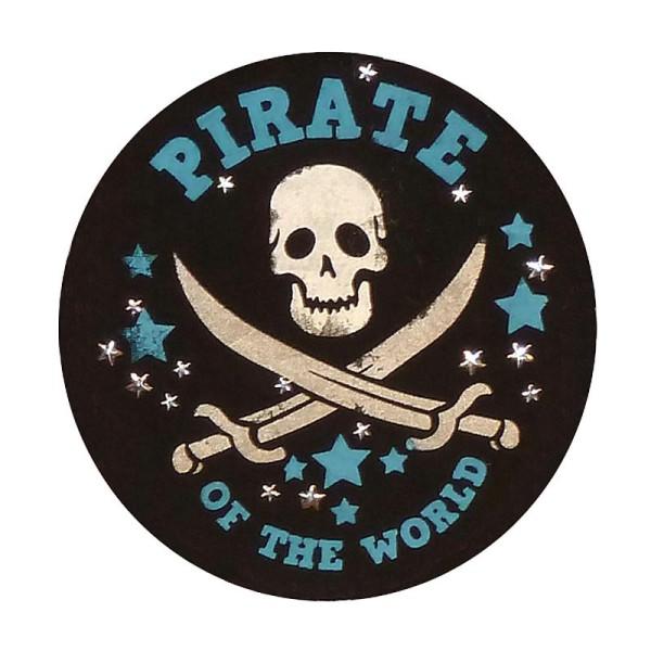 Pochoir textile adhésif My Style Pirate 21 x 14,8 cm - Photo n°5