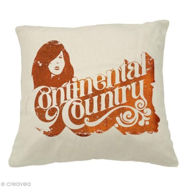 Pochoir autocollant pour textile My Style Continental country 21 x 29,7 cm - Photo n°2