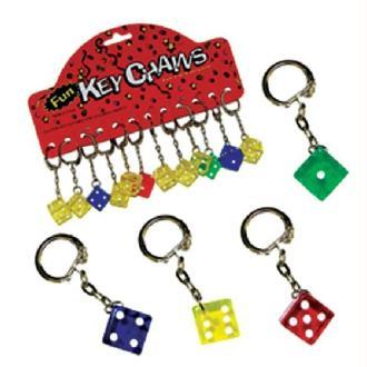 Porte clef dés