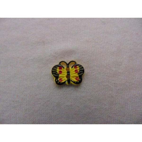 Bouton enfant, papillon - Photo n°2