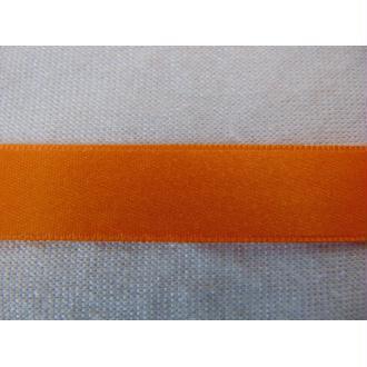 Ruban satin abricot 15 mm