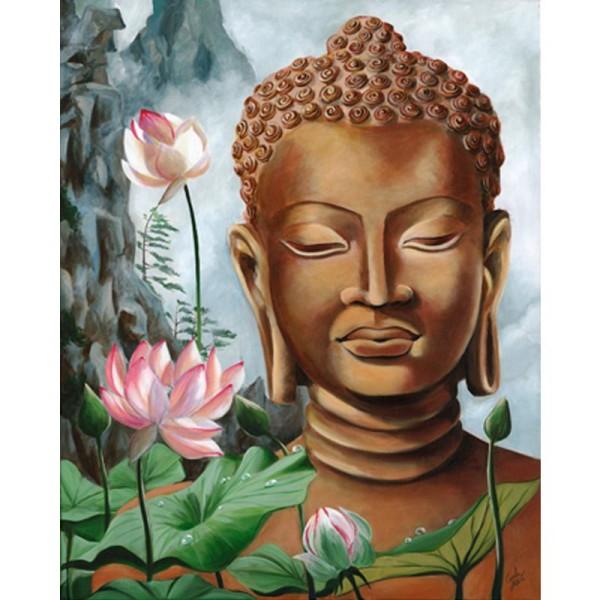 Image 3D Homme - Bouddha 40 x 50 cm - Photo n°1