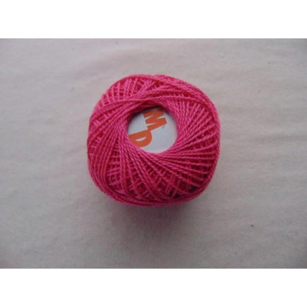 Coton perlé, fuchsia - Photo n°1