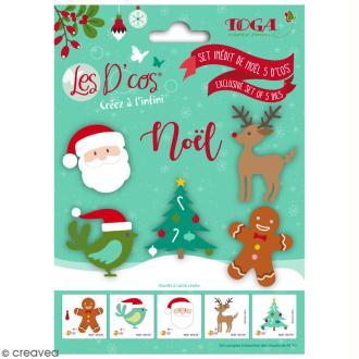 Set Die D'COS Noël - 5 pcs